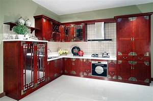 home decorating ideas With kitchen cabinets lowes with asian themed wall art