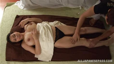 Mayuka Okada In Busty Japanese Milf Getting A Pleasing