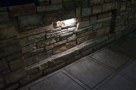 led retaining wall lights led hardscape lighting 8 quot deck step and retaining wall