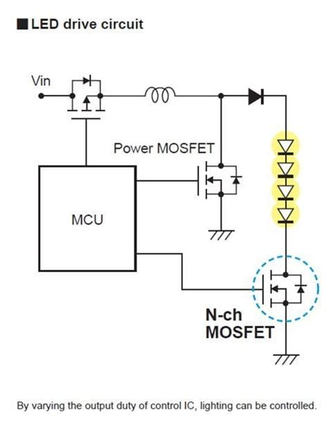 Both A Power Switch And Schematic Wiring by N Channel Fets For Load Switching In Industrial