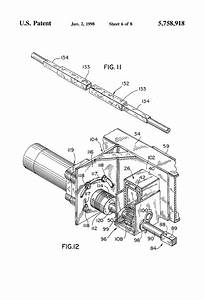 Patent Us5758918 - Vehicle Room Slide-out Operating Mechanism