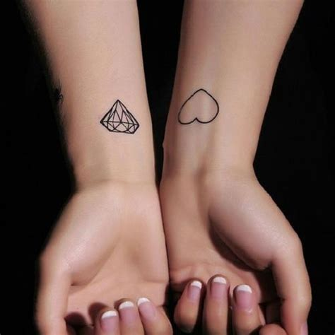 fantastic wrist diamond tattoos