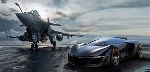 Wallpaper Bell & Ross Aero GT, aircraft, supercar
