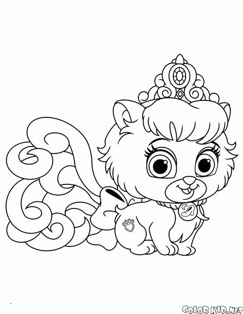 Coloring Page Palace Pets