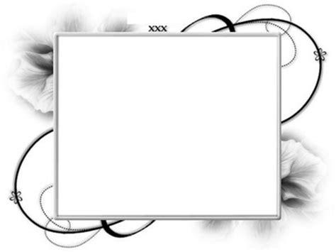 montage photo cadre fleur noir et blan pixiz