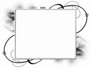 Cadre Noir Et Blanc : montage photo cadre fleur noir et blan pixiz ~ Teatrodelosmanantiales.com Idées de Décoration