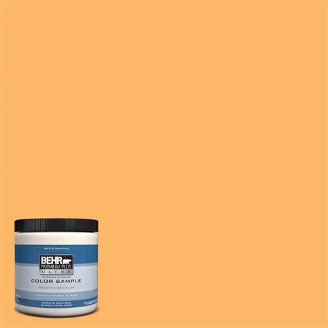 behr premium plus ultra 8 oz hdc sm14 11 yellow polka dot interior exterior satin enamel paint
