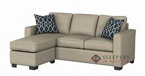 the stanton 702 chaise sectional sleeper sofa queen at With the stanton 702 chaise sectional sleeper sofa queen