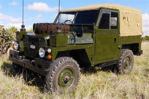 restored 1975 land rover series iii lightweight ffr bring a trailer