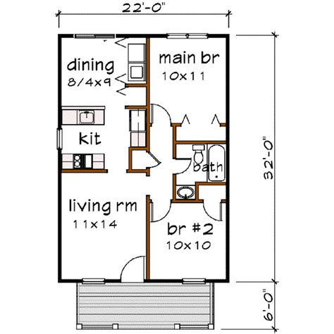 bungalow  beds  baths  sqft plan   main floor plan houseplanscom bungalow style