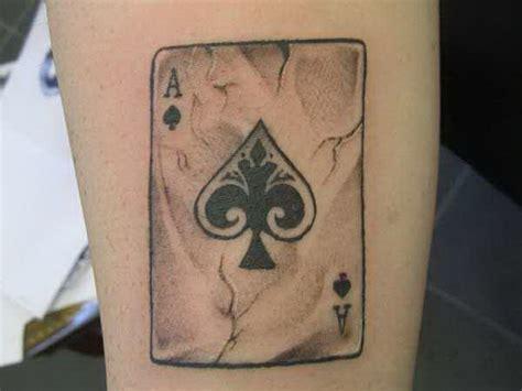 tattoo asso  picche il significato  le immagini