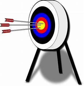 Clipart - Archery Target