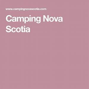 Camping Nova Scotia