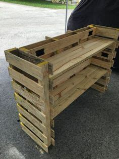 pallet desk counterjpg  mesas pinterest