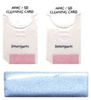 secure digital multimedia card slot cleaning kit