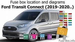 Fuse Box Location And Diagrams  Ford Transit Connect  2019