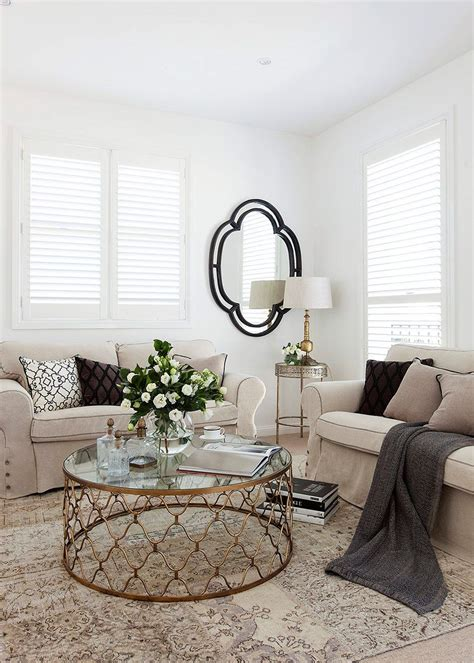 Wohnzimmer Lounge Stil by Htons Style Living Room Makeover Living Spaces
