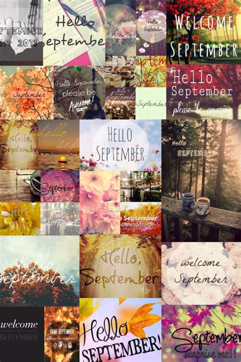 September Collage Pictures, Photos, and Images for