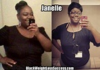 Janelle lost nearly 100 pounds | Black Weight Loss Success
