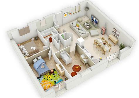 plan maison plein pied 4 chambres construction maison plain pied loélie construction
