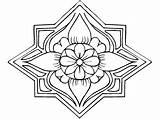 Ramadan Coloring Pages Colouring Sheets Printable Template Getcoloringpages Activity Familyholiday Mandala sketch template