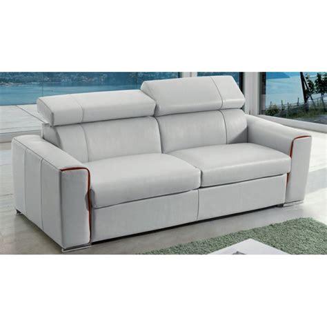 fabricant canape italien canapé lit rapido en cuir avec matelas 18 cm verysofa renoir