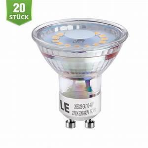 Halogen Leuchtmittel Durch Led Ersetzen : 20er 4w gu10 mr16 led leuchtmittel 50w halogen ersetzen le ~ Michelbontemps.com Haus und Dekorationen