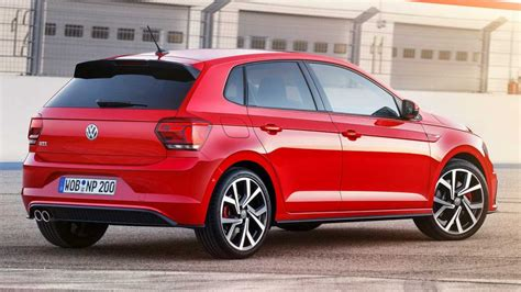 volkswagen polo gti mk debuts  turbo  hp