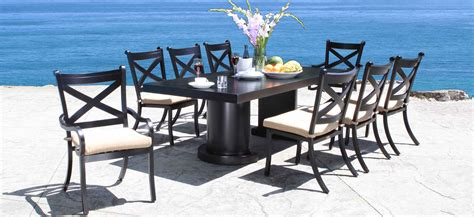 hton bay lemon grove wicker outdoor dining set pacific bay patio furniture cushions pacific grove