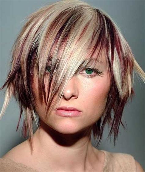 Streaks Hairstyles by Hairstyles With Color Streaks The Best
