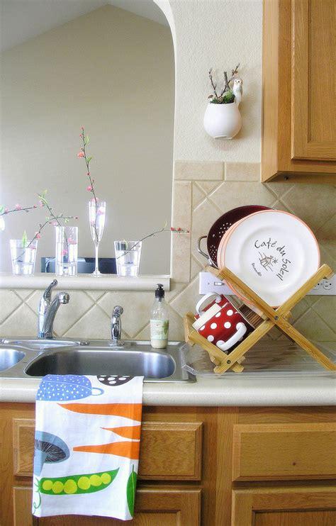 kitchen towel rack sink 10 kitchen towel holder ideas 8671