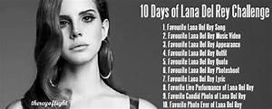 10 Days of Lana Del Rey Challenge | reyoflight