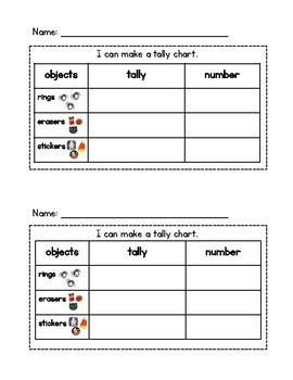 Halloween Tally Chart And Bar Graph By Mrs Marcum's Materials Tpt