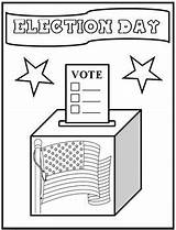 Coloring Pages Election Vote Printable Sheet Voting Elections Craft Books Kindergarten Ballots Rock Getcoloringpages Printcolorcraft Days Template sketch template