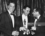 Director Harold Hecht holding his Oscar for the film ...