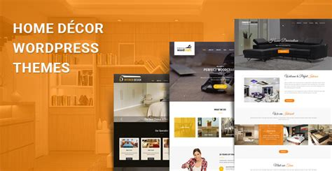 Home Decor Wordpress Themes For Decoration And Interior
