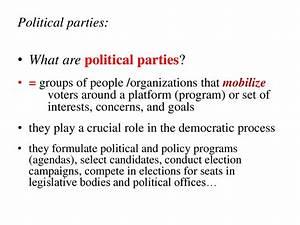 The political process. (Week 7) - презентация онлайн