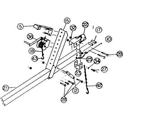 Boat Trailer Parts Names by Boat Trailer Diagram With Names Boat Trailer Wiring
