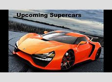 Top 5 coming Supercars, Bugatti Chiron, Trion Nemesis, BMW