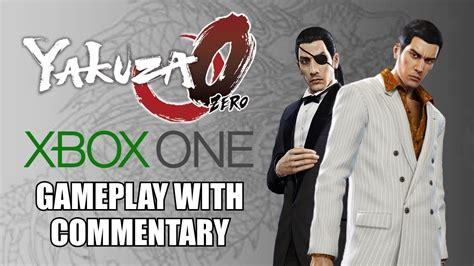 Yakuza 0 Xbox One Gameplay With Commentary Youtube