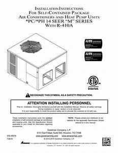 Goodman Gpc14 Multi Position Installation Instructions