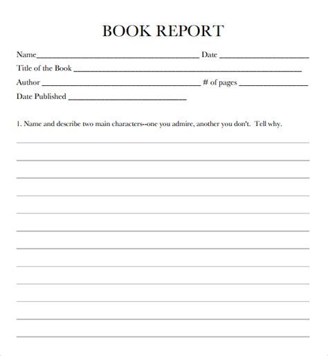 usmc book report examples