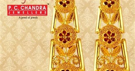 pc chandra gold earrings wedding collection pc chandra gold earrings wedding collection latest jewellery designs