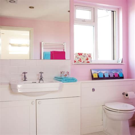 Pink Bathroom Ideas by Modern Pink Bathroom Bathroom Housetohome Co Uk