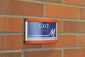 Ada, Compliant, Interior, Exit, Signage