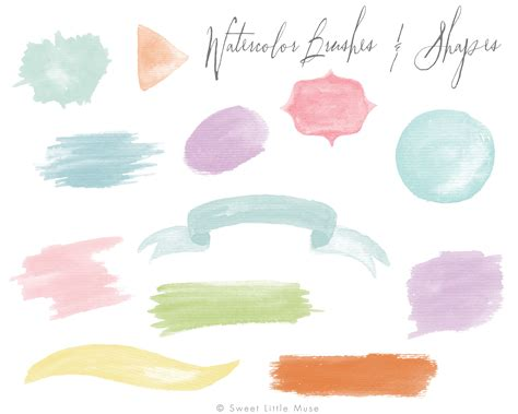 water color brushes watercolor brushes for photoshop photoshop add ons