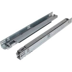 Undermount Sliding Drawer Hardware by Grass F130100737204u 21in 88lb Dynapro Soft Ext