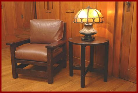 voorhees craftsman mission oak furniture gustav stickley