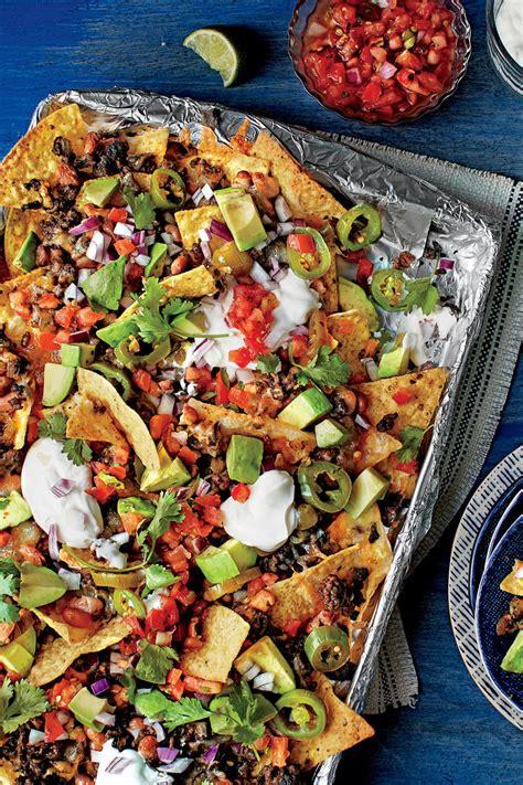 super bowl nachos recipes southern living
