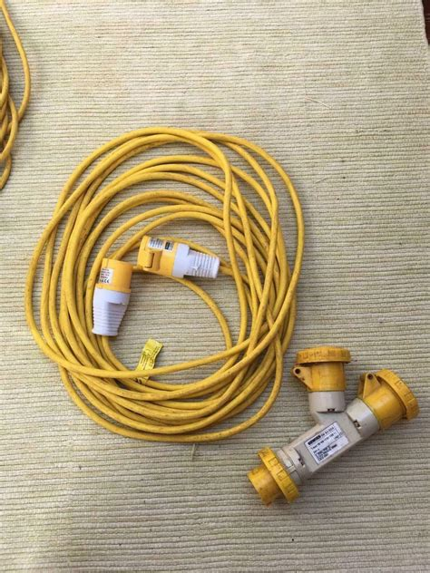Extension Leads 110v | in Brighton, East Sussex | Gumtree